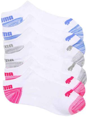 Puma Marled No Show Socks - 6 Pack - Women's