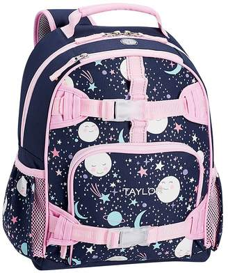 Pottery Barn Kids Mackenzie Pink Navy Glow In The Dark Moons Backpacks