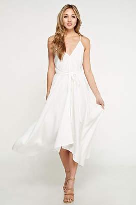 Love Stitch White Beach Dress
