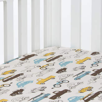 Glenna Jean Sweet Potato by Traffic Jam Fitted Crib Sheet