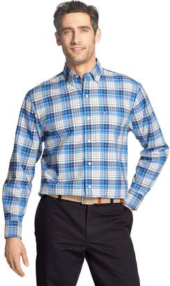 Izod Men's Newport Oxford Classic-Fit Button-Down Shirt