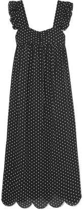 Alexa Chung Woman Shirred Gingham Poplin Mini Dress Black Size 10 AlexaChung Discount 2018 Very Cheap Price ypCrdi