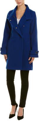 Trina Turk Lucy Wool-Blend Coat