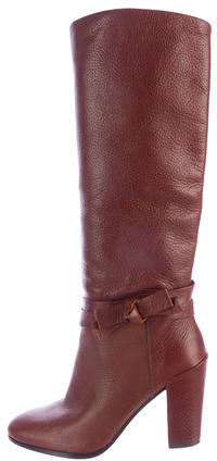Kate SpadeKate Spade New York Leather Mid-Calf Boots