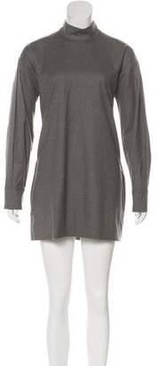 Saint Laurent Wool Long Sleeve Tunic