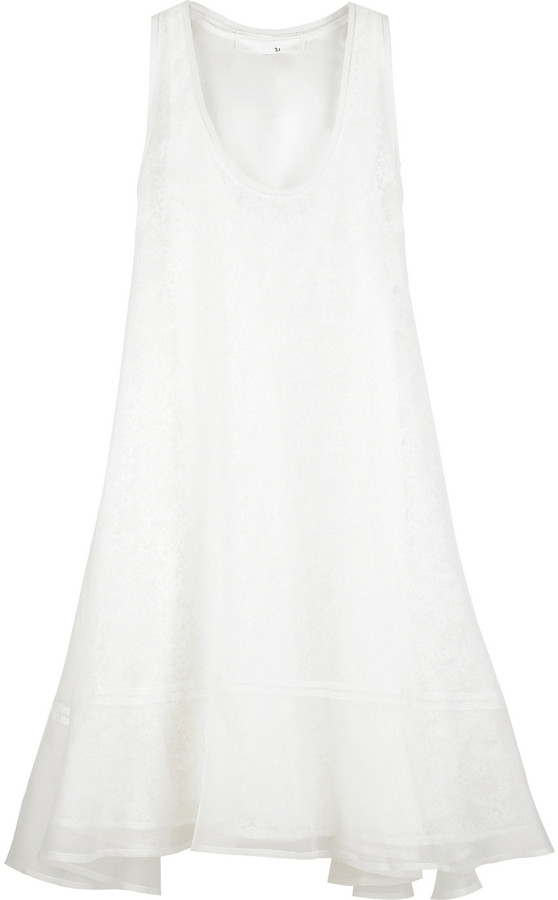 3.1 Phillip Lim Organza trapeze dress