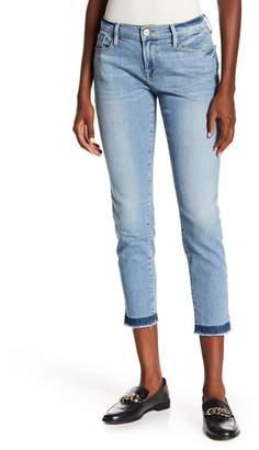 Frame Le Garcon Slit Hem Shadow Jeans