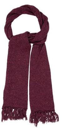 eskandar Wool Tweed Scarf