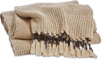 Lucky Brand Closeout! Tassel Throw, Bedding