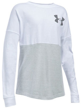 Under Armour Girls 7-16 Colorblocked Quick-Dry Top $34.99 thestylecure.com