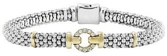 Women's Lagos Enso Diamond Bracelet $995 thestylecure.com