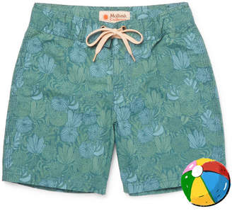 Mollusk - Boys Ages 2 - 12 Printed Cotton-blend Swim Shorts
