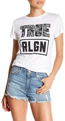 True Religion Short Sleeve Graphic Print Tee