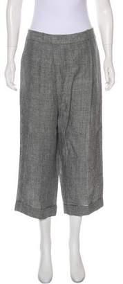 Michael Kors High-Rise Linen Pants w/ Tags