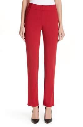 Emporio Armani Slim Stretch Wool Pants