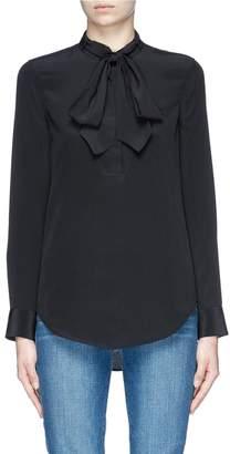 Equipment 'Carleen' silk crepe pussybow shirt
