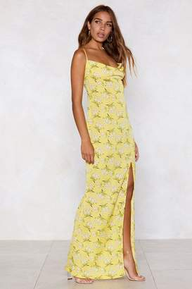 Nasty Gal Budding Artist Floral Dress