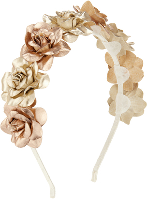 Monsoon Metallic Rose Alice Hair Band