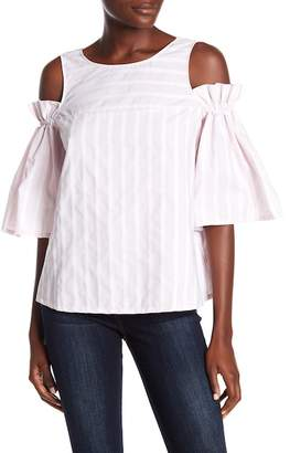 Paul & Joe Sister Stripe Cold Shoulder Blouse