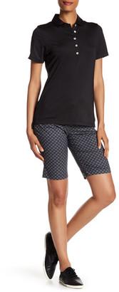 Peter Millar Classic Print Dots Stretch Knee Short $98.50 thestylecure.com