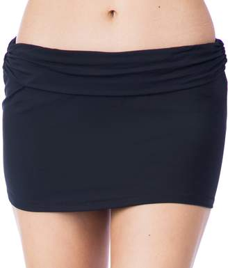 Chaps Women's Solid Skirtini Bottoms