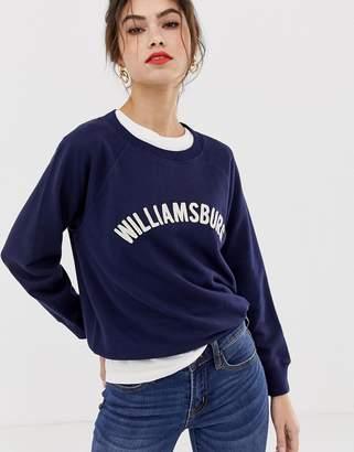 J.Crew Mercantile williamsburg sweatshirt