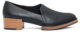 Kelsi Dagger Brooklyn Tag Leather Block Heel Loafer
