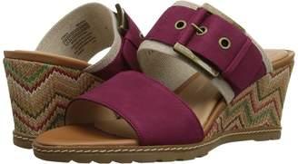 Rockport Garden Court Buckled Slide Women's Wedge Shoes