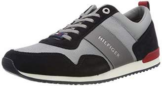 3205eb510 Tommy Hilfiger Men s Iconic Material Mix Runner Trainers