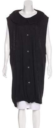 Ann Demeulemeester Hooded Longline Vest