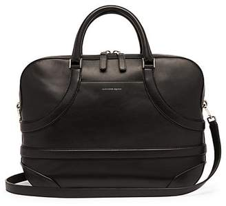 Alexander McQueen Harness Leather Briefcase Bag