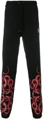 Marcelo Burlon County of Milan snake print track pants