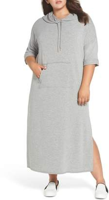 Caslon Hooded Knit Maxi Dress