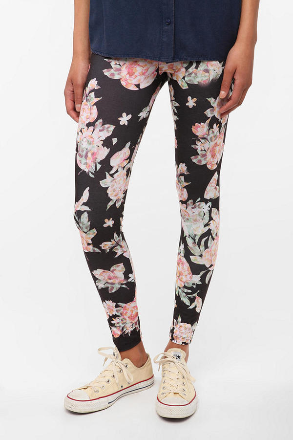 BDG Abstract Legging - Floral