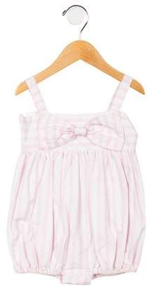 Isabel Garreton Girls' Striped All-In-One