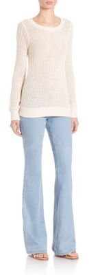 MICHAEL Michael Kors Techno Flared Jeans