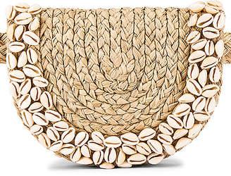 Zimmermann Embroidered Raffia Belt Bag