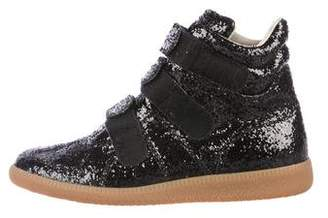 Maison Margiela Glitter High-Top Sneakers