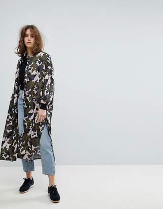 Moss Copenhagen Longline Camo Jacket