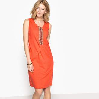 Orange Sleeveless Shift Dresses Shopstyle Uk