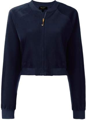 Juicy Couture velvet cropped jacket