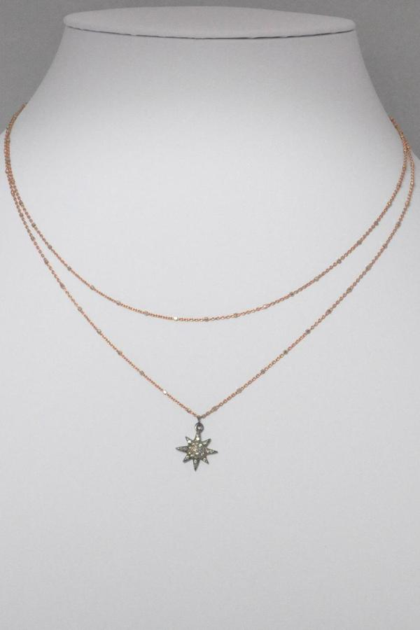 Rosegold Willow Boutique Pave Star