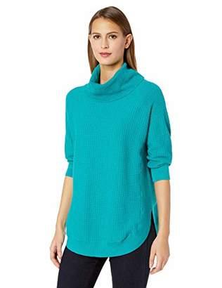 Chaus Women's 3/4 SLV Cowl Neck Sweater