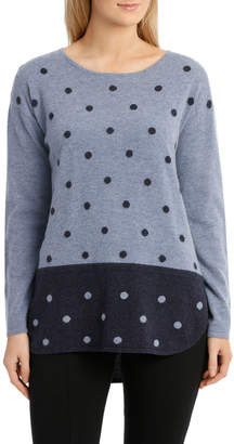 Jump Spot Tunic Pullover