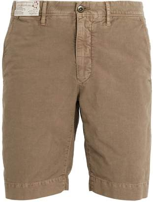 Incotex Mid-rise regular-fit chino shorts