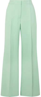 Derek Lam Crepe Wide-leg Pants - Green