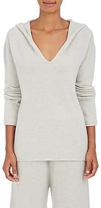 Barneys New York Women's Hooded Cashmere Sweater - Light Gray