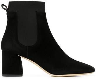 Gianna Meliani square-toe ankle boots
