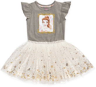 Disney's® Beauty and The Beast Princess Belle Graphic-Print Tutu Dress, Toddler & Little Girls (2T-6X) $36 thestylecure.com