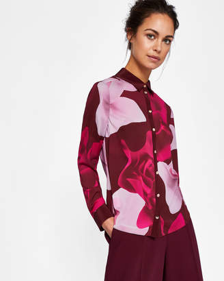 Ted Baker TEEHNA Porcelain Rose silk shirt